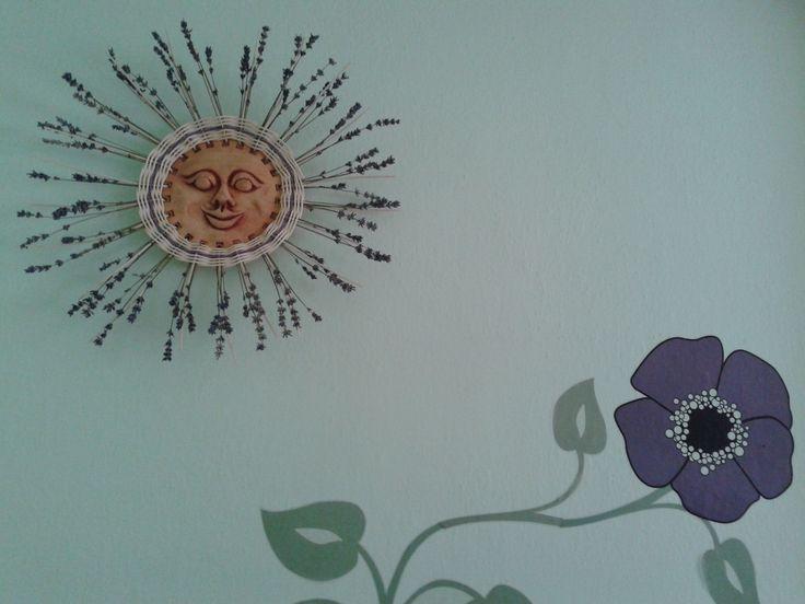sluníčko s levandulí