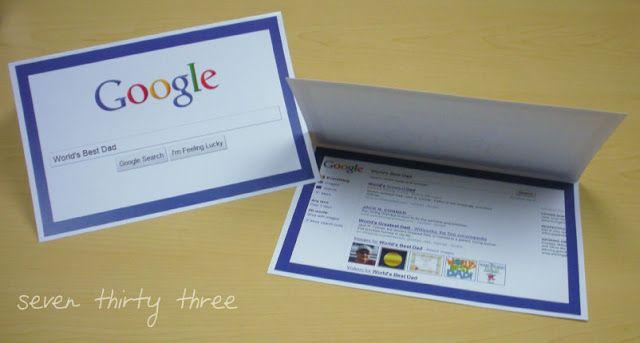 Father's Day Google Card   Munchkins and Mayhem