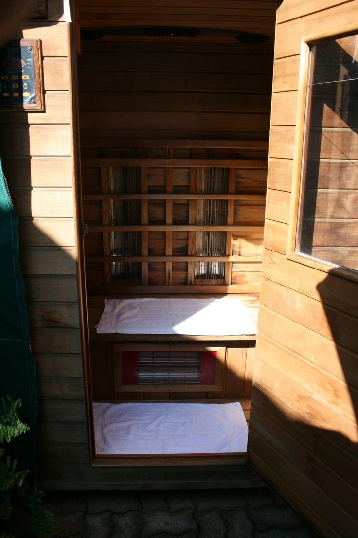 Infrared Sauna With Salt Wall In Nh Hotel Zandvoort The: Infrared Sauna, Day Spas And Saunas On Pinterest