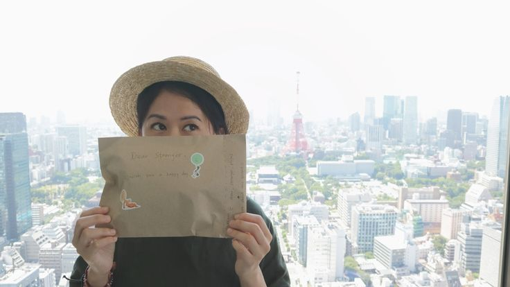 Dear Stranger, Tea for a day: Dear stranger project in Tokyo