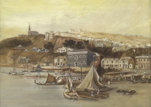 Early Aukland, by Charles Heaphy - Auckland Art Gallery