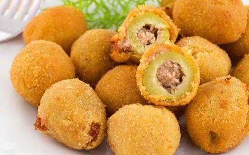 Aceitunas empanadas » Divina CocinaRecetas fáciles, cocina andaluza y del mundo. » Divina Cocina