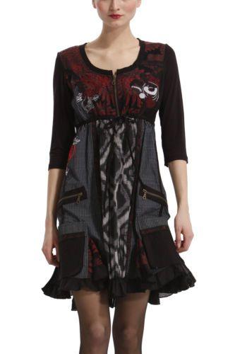 vestido desigual talla M $40.000.-