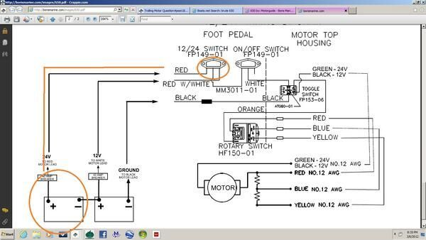 Motorguide Trolling Motor Trolling Motor Wiring Diagram