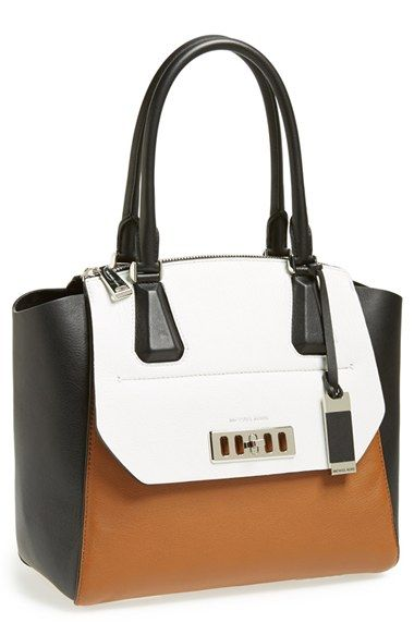 Michael Kors 'Vivian' Colorblock Satchel available at #Nordstrom