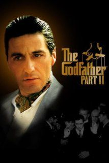 The Godfather: Part II (1974) Poster That rare second film, in a trilogy, that is actually BETTER than the one before it.