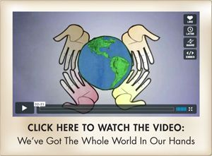 "Get the Popular Earth Day Song ""We've Got The Whole World In Our Hands"" free here!  Plus free activities and teaching materials!"