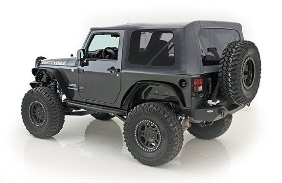 Smittybilt 9070235 Replacement Soft Top With Tinted Windows In