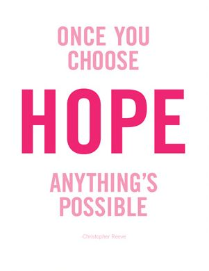 All Things Are Possible With GOD! Pink+Hope=GOD's Love!