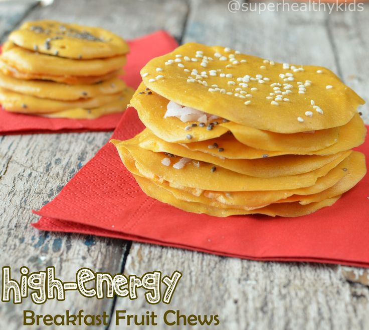 High Energy Breakfast Fruit Chews #fitkids #healthysnacks #dryproduce