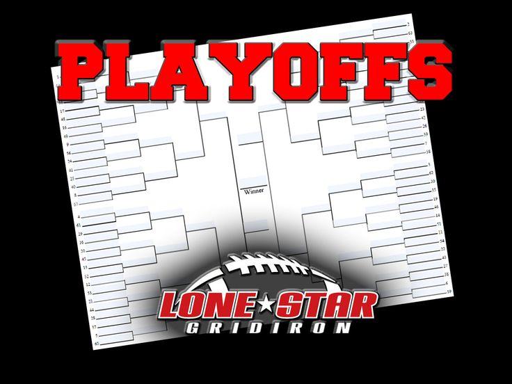 2016 Texas High School Football Playoff Brackets