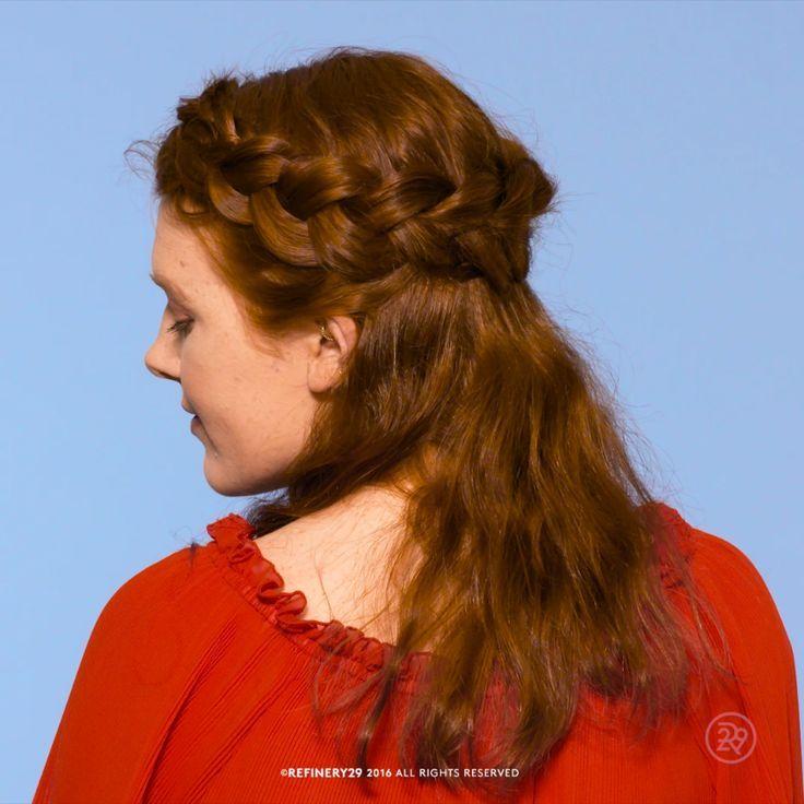 How to: crown braid | #Hairstyles # HairstylesMotherWomen #HairstylesApp #Hairstyles