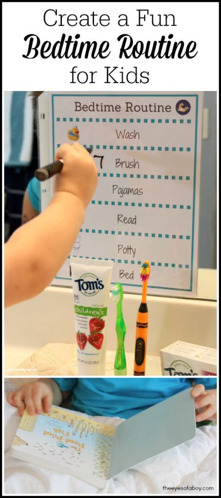 Create a Fun Bedtime Routine for Kids with FREE printable chart  #NaturalGoodness [ad]