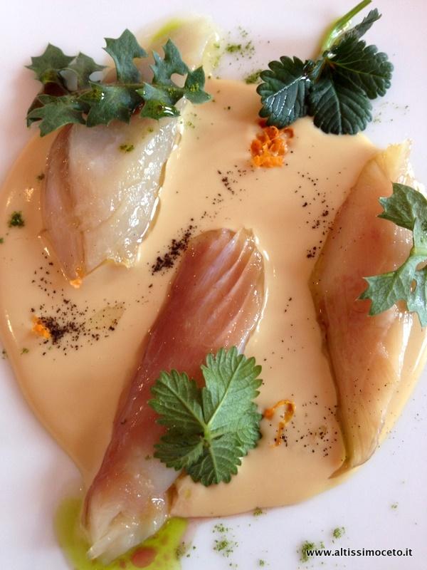 Foie gras e sgombro - Ristorante Piazza Duomo - Alba (CN)