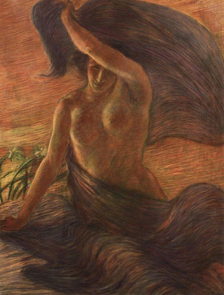 The Wind - Gaetano Previati