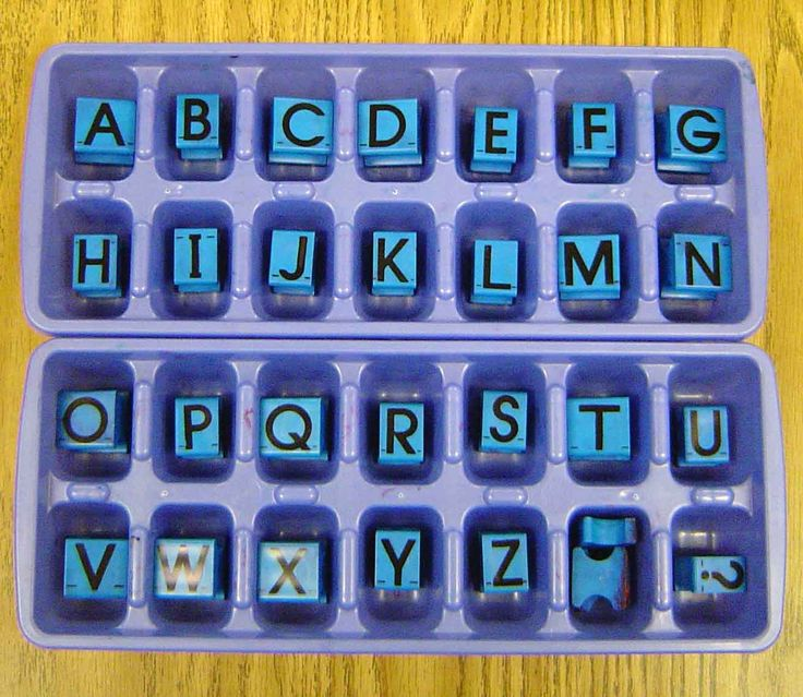 Genius!Stamps Organic, Alphabet Stamps, Letters Stamps, Abc Stamps, Ice Trays, Ice Cube Trays, Kindergarten, Organic Alphabet, Ice Cubes Trays