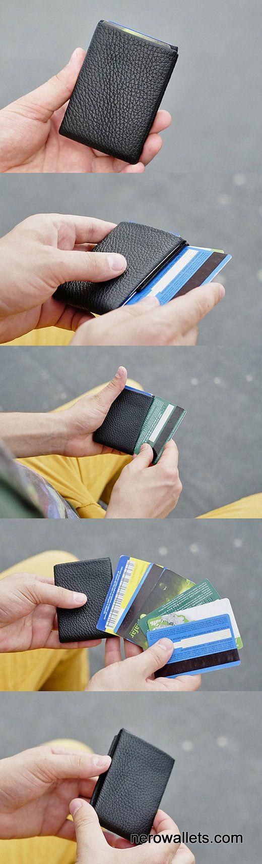 Limited Edition NERO Wallet Minimalist Wallet by NeroWallet
