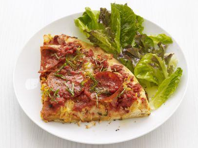Deep-Dish Pepperoni Pizza Recipe : Food Network Kitchen : Food Network