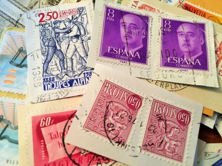 Kindheitserinnerung: Briefmarken sammeln