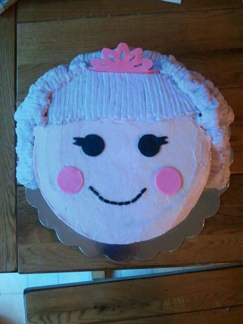 Lalaloopsy Cake Kids Party Food Pinterest Cakes And