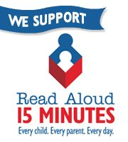 "We Support ""Read Aloud 15 Minutes"""