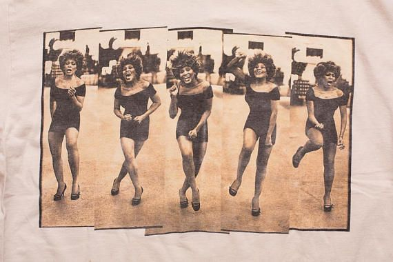Tina Turner T-Shirt, 1996 Wildest Dreams Tour, XL, Vintage 1990s, R&B Singer, Pop Rock, Soul, Hanes Hosiery, Concert Memorabilia