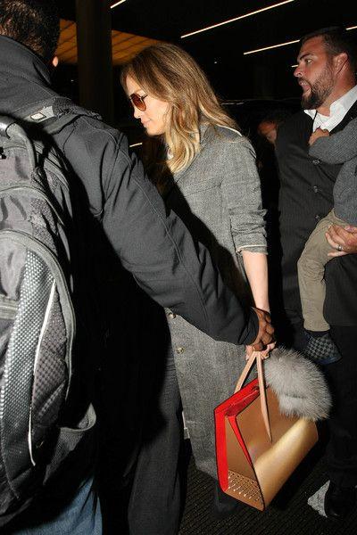 Jennifer Lopez Photos - Jennifer Lopez and Family Seen at LAX - Zimbio