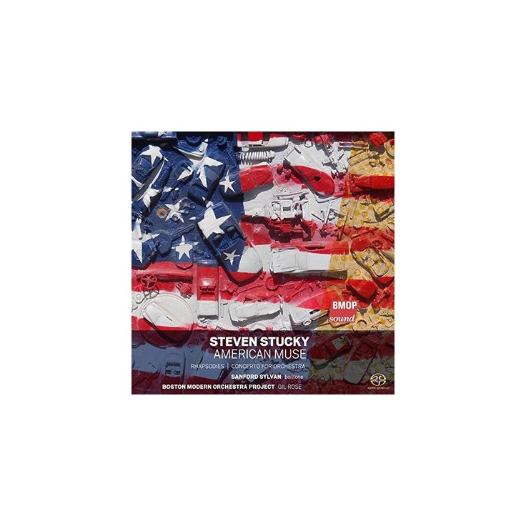Stucky & Boston Modern Orchestra Project & Rose - Steven Stucky: American Muse (CD)