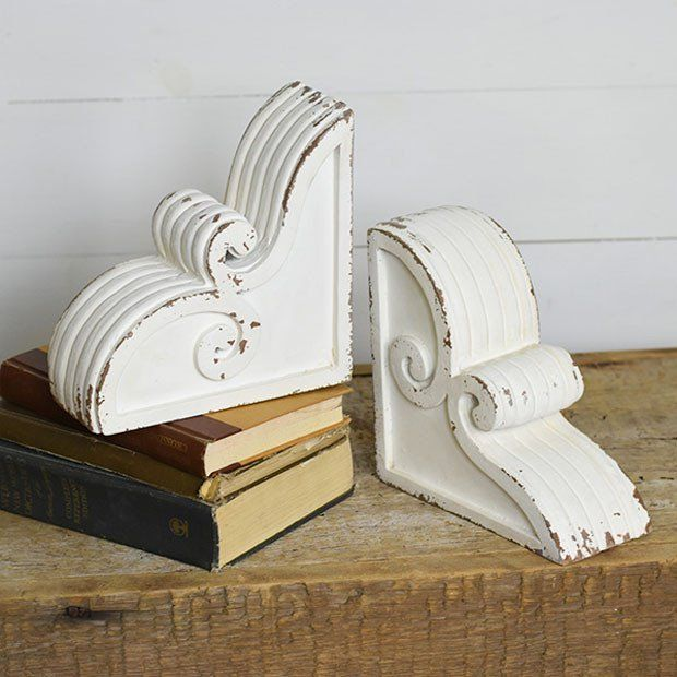 Curly Corbels Set Of 2 With Images Corbels Antique Farmhouse Wooden Corbels