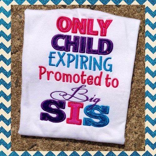 Promoted To Big Sister Shirt