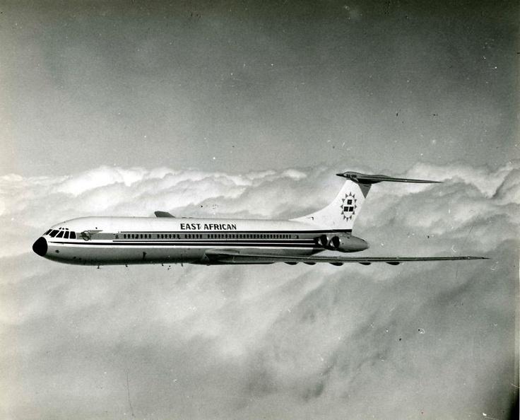 East African Airways ('EAA') Vickers Super VC10 (Series 1150) 5X-UVA (c/n: 881).