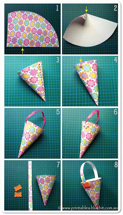 FREE printable template for Lolly Cones.  http://www.printables.bluebit.com.au/index.php?id=free_craft_lolly_cones