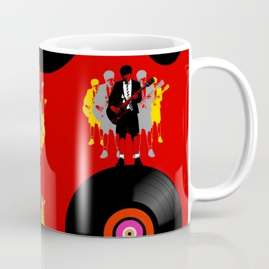 'Angus on Vinyl' Mug @society6 #popart #design #art #coffeemug #vinyljunkie #angus #gibsonguitar #acdcfans #acdc #mugs #angusyoung #vinylcollector #leadguitar #society6mugs #society6 #acdcgifts #giftideas #xmasgifts #coolmugs #smallgifts