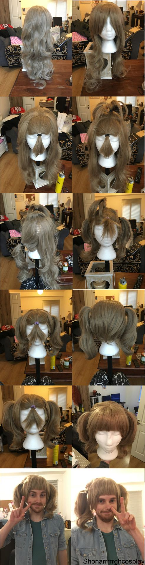"living-for-wanderlust: "" So i made a wig tutorial on cosplay amino and the tutorial went down really well. I know i haven't really posted anything about cosplay on this tumblr but anyway here it is...."