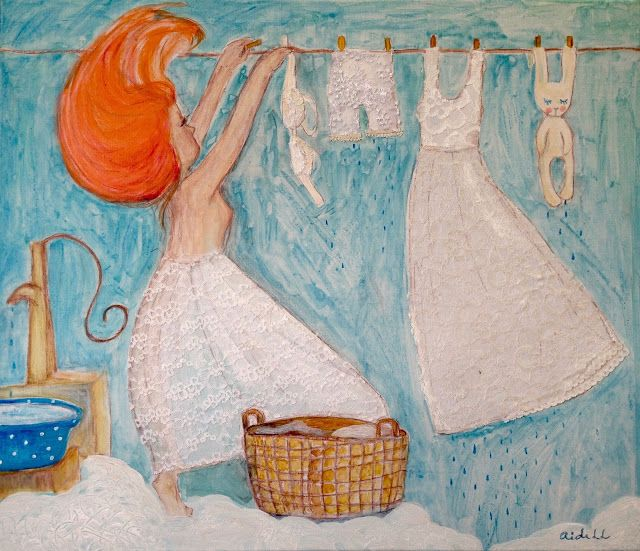 Aide Leit-Lepmets: Laced Laundry Day