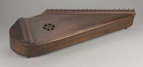 Psaltery (kantele) , late 19th century Nice trim Nice drill holes