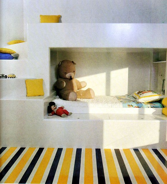 kids room, How to Decorate Without a Decorator, A Realistic Guide to Interior Design, by Mary Gilliatt, Thames and Hudson, London, 1977.