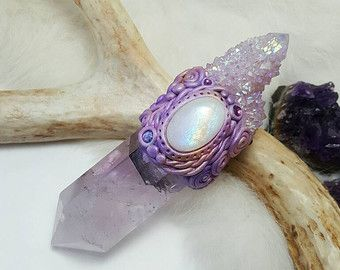Crystal bacchetta magica. L'ametrino di EnchantedEvolution11