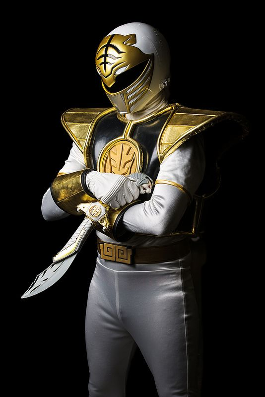White Ranger from Power Rangers - Comicpalooza 2013