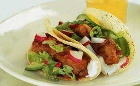 Fried Fish Tacos / Romulo Yanes