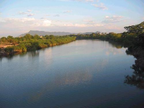Vista del desde el puente Tuxpan - San Vicente