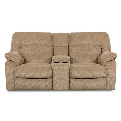 Simmons® Columbia Stone Reclining Console Loveseat At Big Lots. $699.99