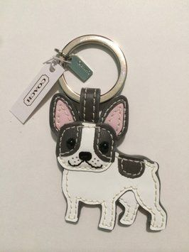 Coach French Bulldog Key Ring. Get the lowest price on Coach French Bulldog Key Ring and other fabulous designer clothing and accessories! Shop Tradesy now
