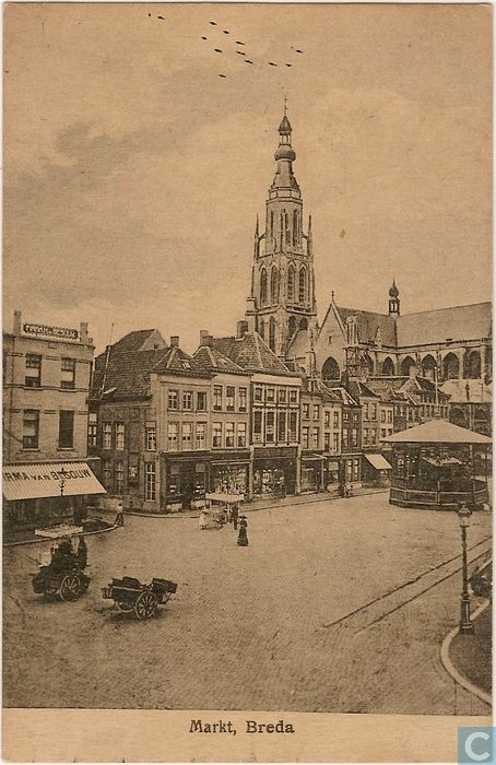 Breda - Grote Markt.
