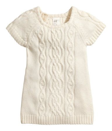 Adorable Sweater Cable Knit Dress Hm Us Baby Baby Cute Baby