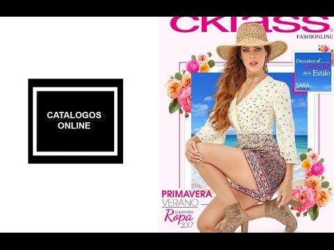 Nuevo catalogo de ropa cklass 2017 primavera verano - YouTube