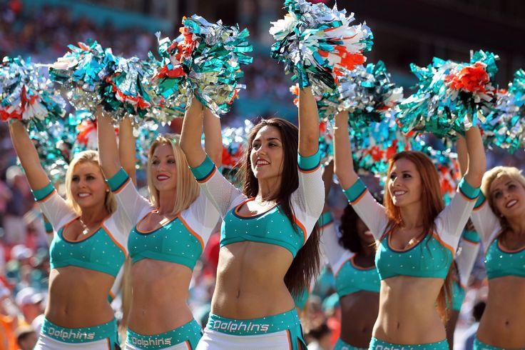 Miami Dolphins Cheerleader Uniform
