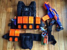 Zombie Strike: Nerf Blaster Loadouts   Nerf Gun Attachments