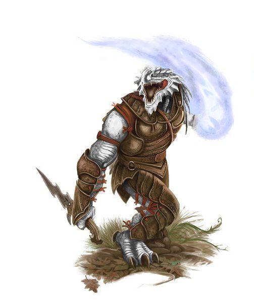 Dnd White Dragon: Kelreth White Photo By MLenser Dragonborn D&D