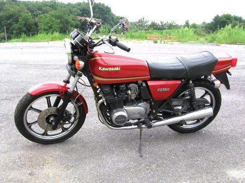 Kz550 58hp 430lbs 32 2 Quot Seat Height Bikes I Am